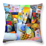 Houses Of The Rising Sun Throw Pillow