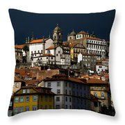 Houses Of The Slope Throw Pillow