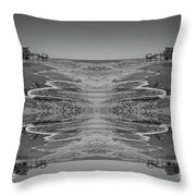 Houses On The Watch Throw Pillow