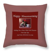 Housewarming  Throw Pillow