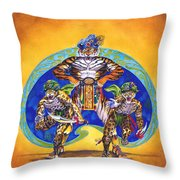 Houshank's Justice Throw Pillow