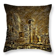 Houston Advantage II Throw Pillow