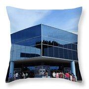 Houston Space Center Throw Pillow