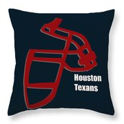Houston Texans Retro Throw Pillow