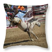 Houston,we Have Lift-off Throw Pillow