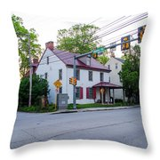 Hovenden House - Plymouth Meeting Pa Throw Pillow