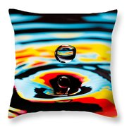 Hover II Throw Pillow