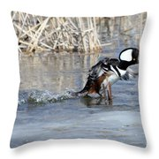 How About A Danece Throw Pillow