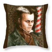 How About A Shave Throw Pillow