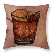 How About An Old Fashioned? Throw Pillow