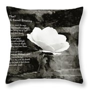 How Do I Love Thee Throw Pillow