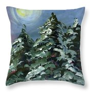 How Great The Lesser Light Throw Pillow