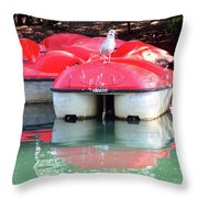 How It Was A While Ago Throw Pillow