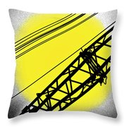 How The Sun Rises Throw Pillow