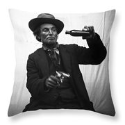 How The West Was Won Throw Pillow