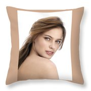 How To Add Combination Skin Care Throw Pillow