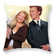 How To Lose A Guy In 10 Days Throw Pillow