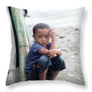 How You'd Feel Here Throw Pillow