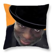 Howard Martin Throw Pillow