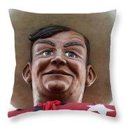 Howdy Folks - Big Tex Portrait 02 Throw Pillow