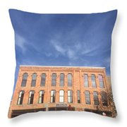 Howell Opera House Throw Pillow