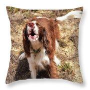 Howler 2 Throw Pillow