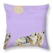 Howlers Throw Pillow
