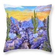 Howling Good Evening Throw Pillow