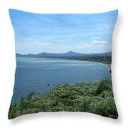 Howth Bay Throw Pillow