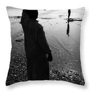 Howz It Out There Throw Pillow
