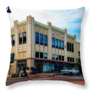 H.s. Kress Five And Dime Store Throw Pillow