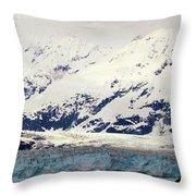 Hubbard Glacier Alaska Wilderness Throw Pillow