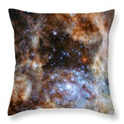 Hubble Finds Massive Stars Throw Pillow