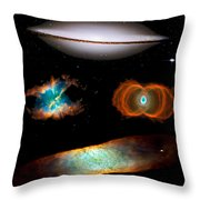 Hubble Greatest Hits Throw Pillow