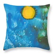 Hubble I Throw Pillow