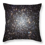 Hubble Image Of Messier 9 Throw Pillow