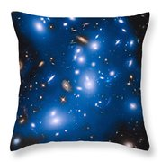 Hubble Sees Ghost Light From Dead Galaxies Throw Pillow