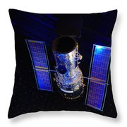 Hubble Space Telescope Throw Pillow