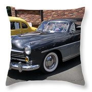 Hudson 1949 Throw Pillow