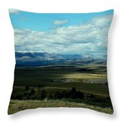 Hudson Bay Divide, From Looking Glass Throw Pillow