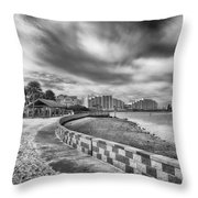 Hudson Beach Throw Pillow