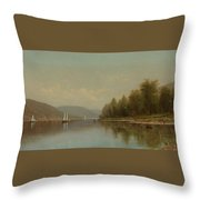 Hudson River Throw Pillow