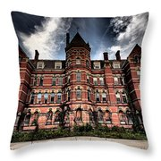 Hudson River Psych Center  Throw Pillow