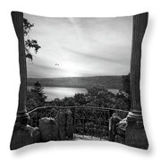 Hudson River Views Throw Pillow