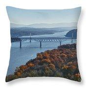 Hudson Valley Throw Pillow