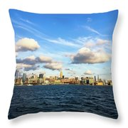 Hudson Waterfront Throw Pillow
