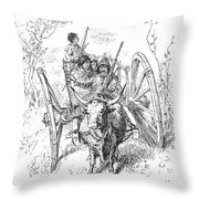 Hudsons Bay Company Traders Throw Pillow