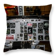 Huey Instrument Panel Throw Pillow