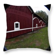 Huge Barn Throw Pillow