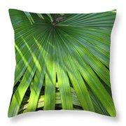 Huge Palm Leaf Throw Pillow